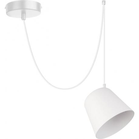 Jawa lampa wisząca 1 biała