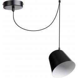 Jawa lampa wisząca 1 czarna