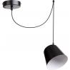 Jawa lampa wisząca 1 czarna 31386 Sigma