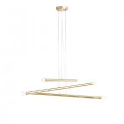 Tubo Brass lampa wisząca 1072K40 Aldex