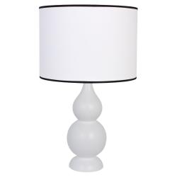 Shisha biała lampka drewniana 4114209 Hellux