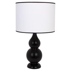 Shisha czarna lampka drewniana 4114219 Hellux