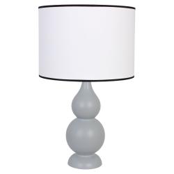 Shisha szara lampka drewniana 4114240 Hellux