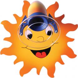 Słoneczko kinkiet 5111108 Hellux