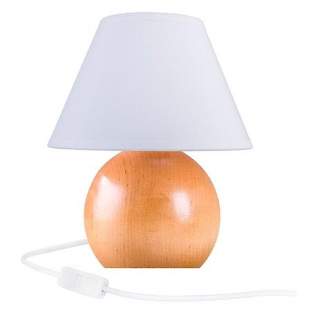 Kula buk naturalny lampka 4110110 Hellux