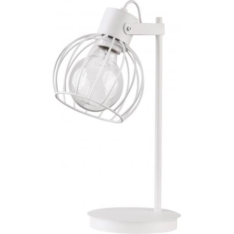 Luto Koło lampka biała