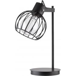 Luto Koło lampka czarna
