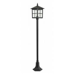 Wenecja lampa stojąca duża czarna