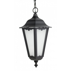 Retro maxi lampa wisząca czarna
