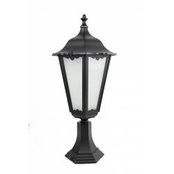 Retro maxi lampa stojąca mała czarna