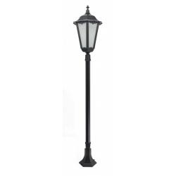Retro maxi lampa stojąca średnia czarna