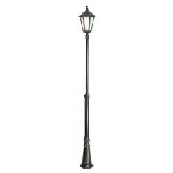Retro maxi lampa stojąca duża czarna