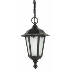 Retro midi lampa wisząca czarna