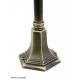Retro midi lampa stojąca średnia czarna