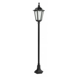 Retro classic lampa stojąca duża czarna