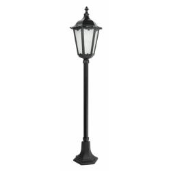 Retro classic lampa stojąca średnia czarna