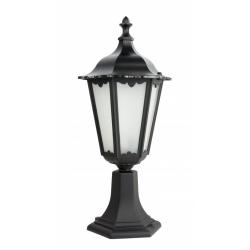 Retro classic lampa stojąca mała czarna