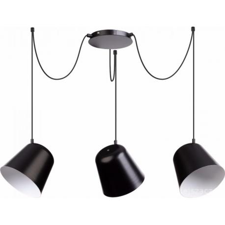 Jawa lampa wisząca 3 czarna