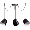 Jawa lampa wisząca 3 czarna 31387 Sigma