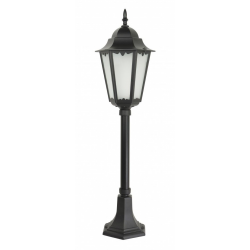 Retro classic II lampa stojąca średnia czarna