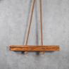 Lampa wisząca z drewna I Retro Drewno