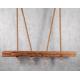 Lampa wisząca z drewna II Retro Drewno