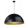Sfera lampa wisząca czarny/złoty 50 30137 Sigma