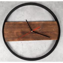 Zegar drewniany I Retro Drewno