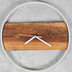 Zegar drewniany II Retro Drewno