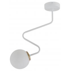 Zigzag lampa wisząca baiła/złota 33304 Sigma