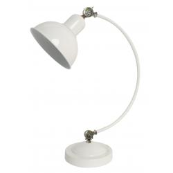 Old lampa biurkowa biała 41-27931