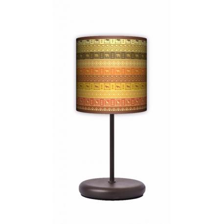 Fotolampa Afryka - lampa stojąca Eko