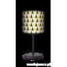 Black and yellow lampa stojąca Eko Fotolampy
