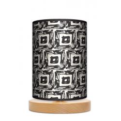 Fotolampa Awangarda - lampa stojąca mała buk