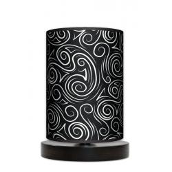 Fotolampa Glamour - lampa stojąca mała wenge
