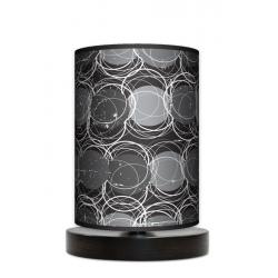 Fotolampa Grey - lampa stojąca mała buk
