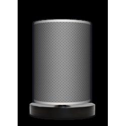 Fotolampa Grey tie - lampa stojąca mała wenge