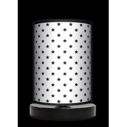 Fotolampa Gwiazdki - lampa stojąca mała wenge
