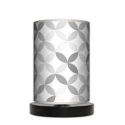 Fotolampa Light grey - lampa stojąca mała wenge