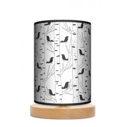 Fotolampa Ptaki - lampa stojąca mała buk