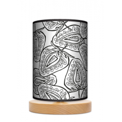 Fotolampa Truskawki - lampa stojąca mała buk