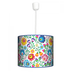 Fotolampa Folk - lampa wisząca duża