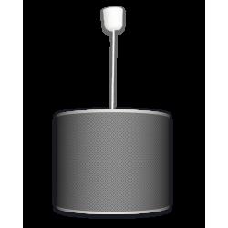 Fotolampa Grey tie - lampa wisząca duża