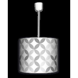 Fotolampa Light grey - lampa wisząca duża