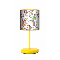 Fotolampa Bajka - lampa stojąca Eko