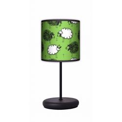 Fotolampa Czarna owca - lampa stojąca Eko