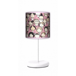Fotolampa Girls - lampa stojąca Eko