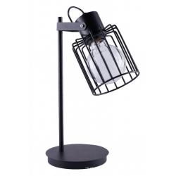 Luto Kwadrat lampka czarna