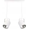 Flesz E27 lampa wisząca biała 31139 Sigma