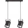 Flesz E27 lampa wisząca czarna 31242 Sigma